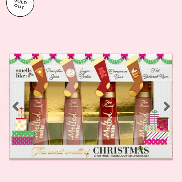 Too Faced Other - Too faced Holiday 2018 Christmas Lipsticks Set New